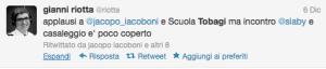 il tweet di Giovedì 6 dicembre di @Riotta